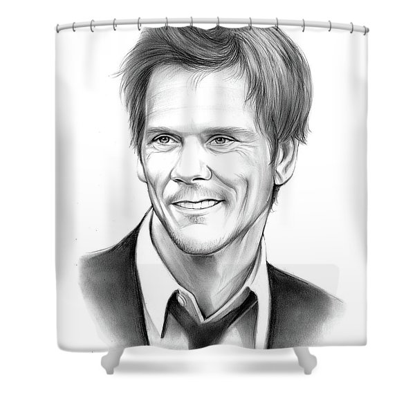 Kevin Bacon Shower Curtain