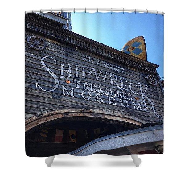 Key Museum  Shower Curtain