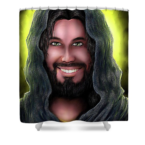Key To Heaven Shower Curtain