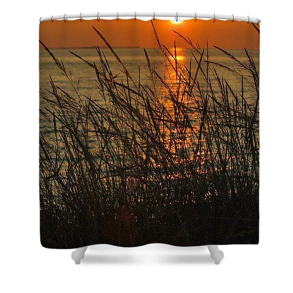 Key West Sunset Shower Curtain