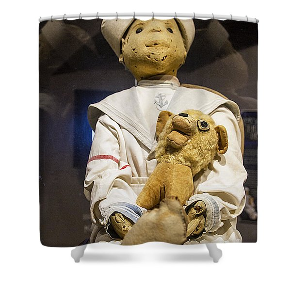 Key Wests Robert The Doll Shower Curtain