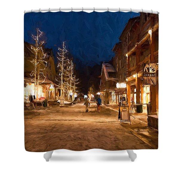 Keystone Village Shower Curtain