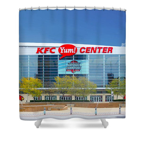 Kfc Yum Center, Louisville Shower Curtain