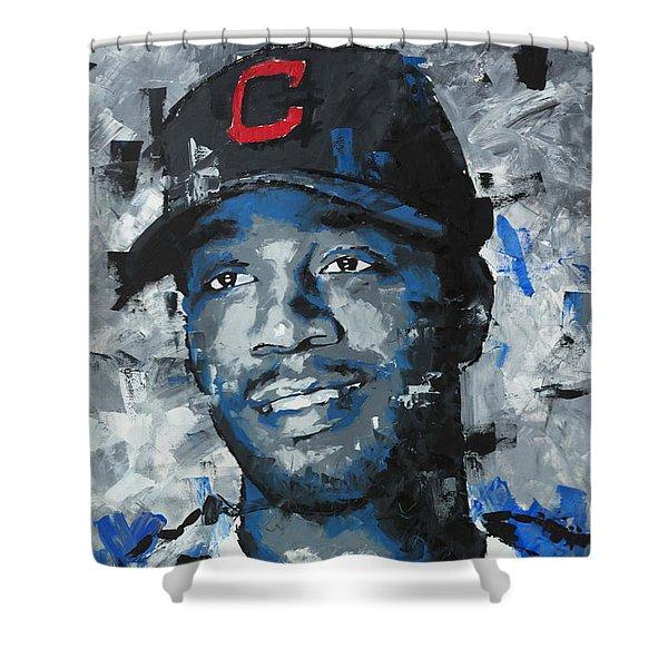 Kid Cudi Portrait Shower Curtain