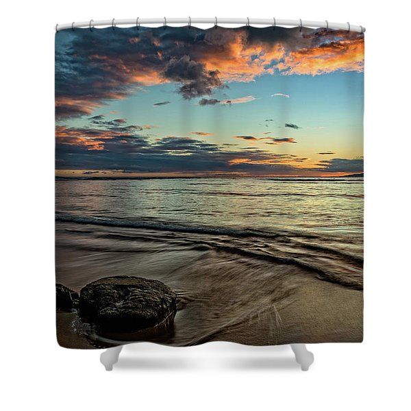 Kihei, Maui Sunset Shower Curtain