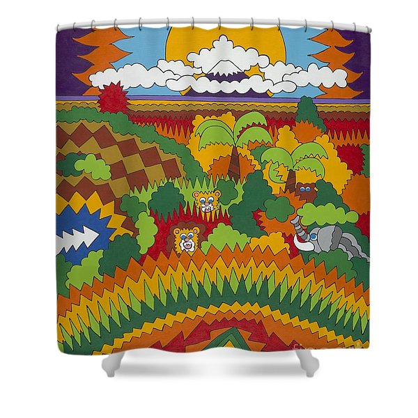 Kilimanjaro Shower Curtain