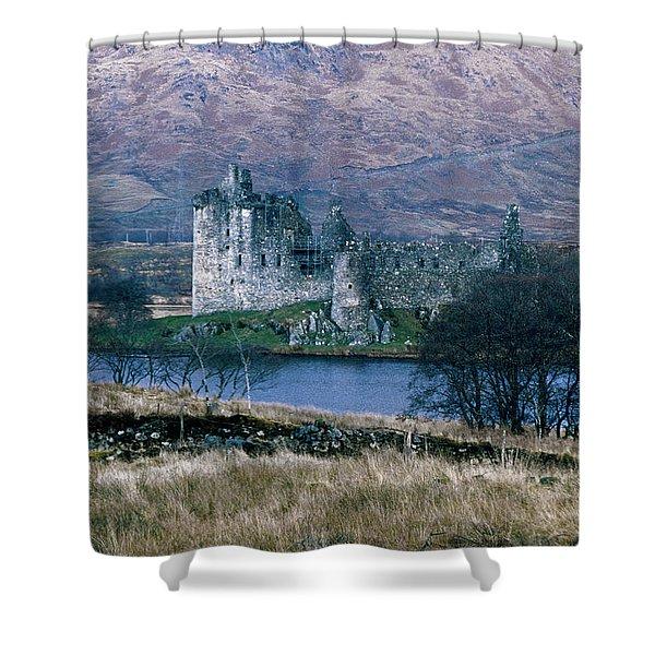 Kilchurn Castle, Scotland Shower Curtain