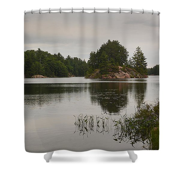 Killarney-carlyle Lake Shower Curtain