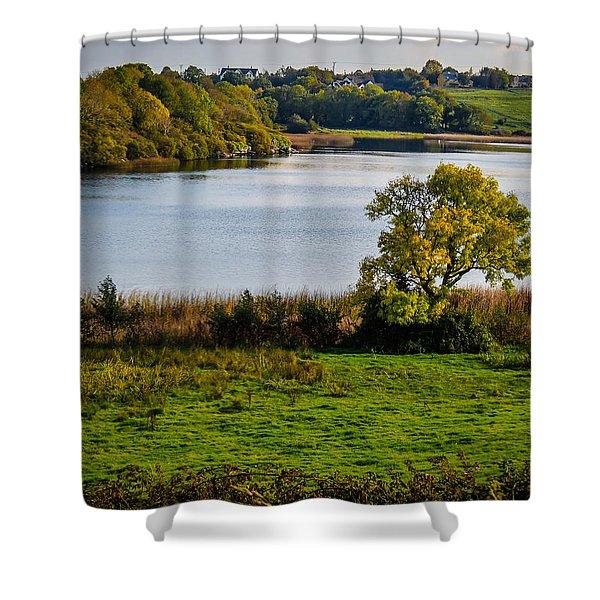 Killone Lake In County Clare, Ireland Shower Curtain