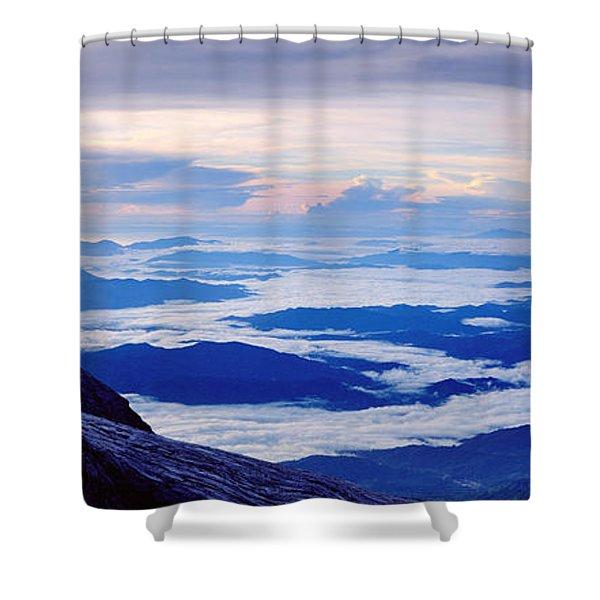 Kinabalu Panorama Shower Curtain