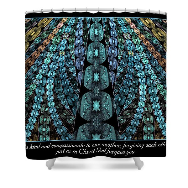 Kind And Compassionate Shower Curtain