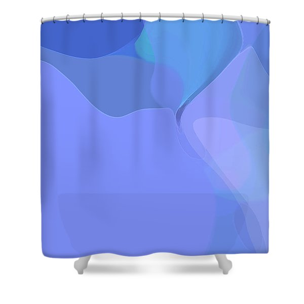 Kind Of Blue Shower Curtain