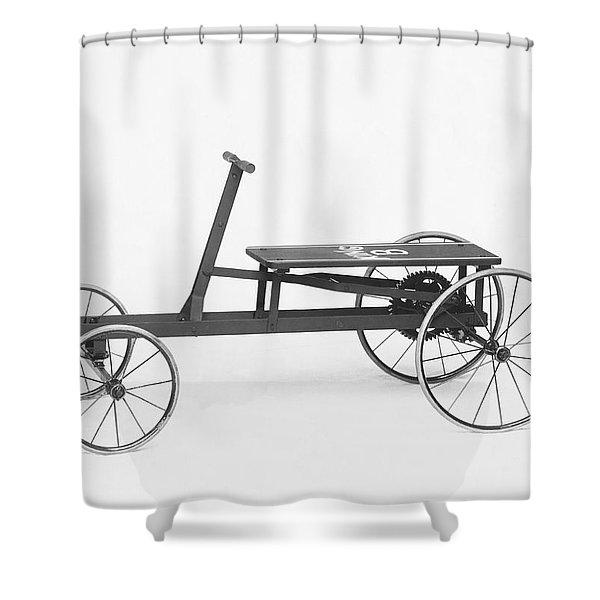 King B Hand Car Shower Curtain