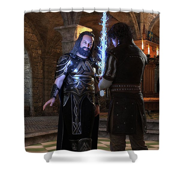 King Edward Shower Curtain