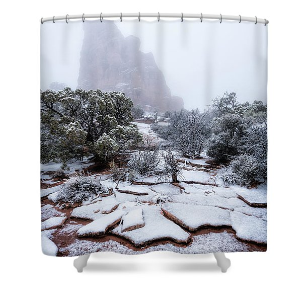 King Of Fog Shower Curtain