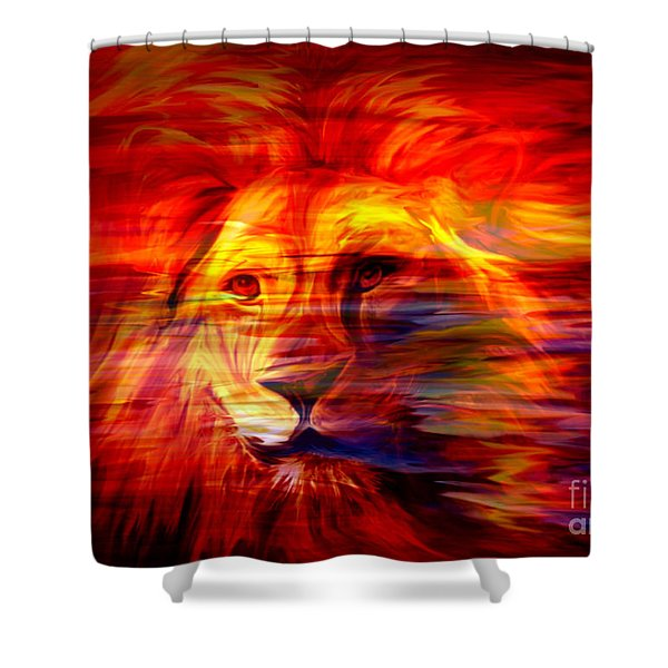 King Of Glory Shower Curtain