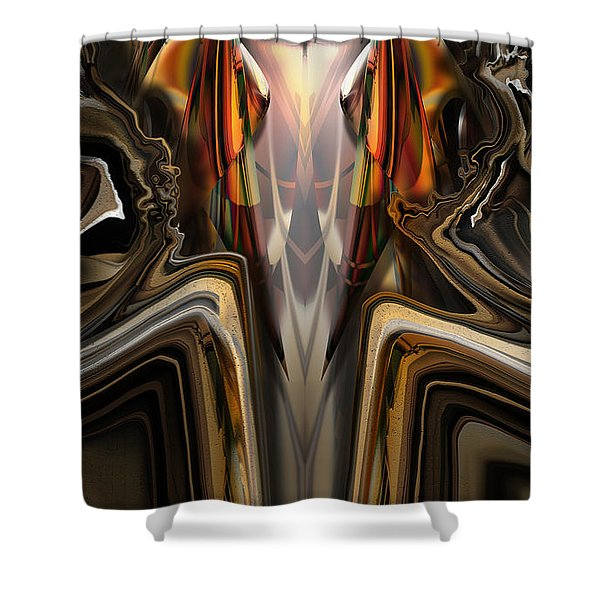 King Of The Aviary Shower Curtain