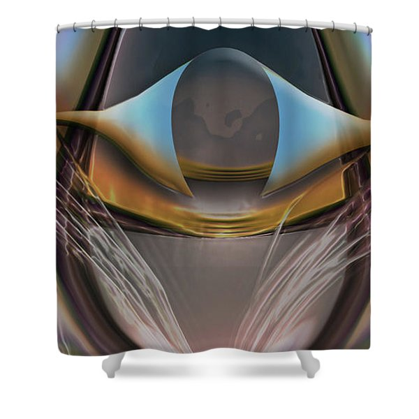 King Of The Skies Shower Curtain