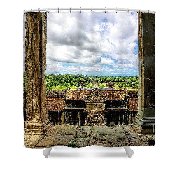 Kingdom Of The Gods Angkor Wat  Shower Curtain