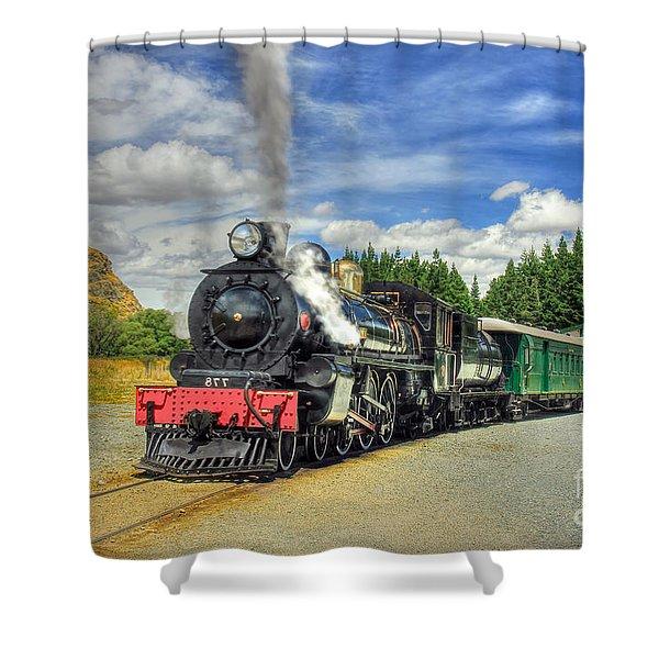 Kingston Flyer Shower Curtain