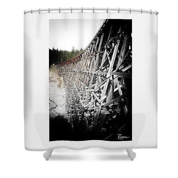 Kinsole Vintage Shower Curtain