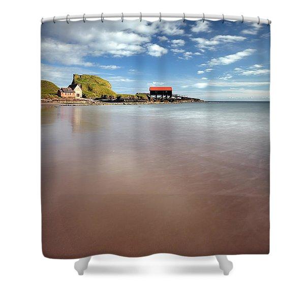 Kintyre Beach Shower Curtain
