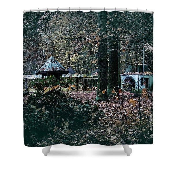 Kiosk Shower Curtain