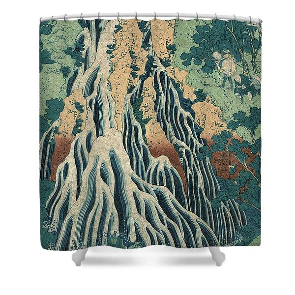 Kirifuri Falls Shower Curtain