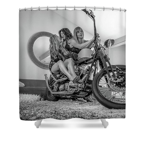 Kiss Me Now- Shower Curtain