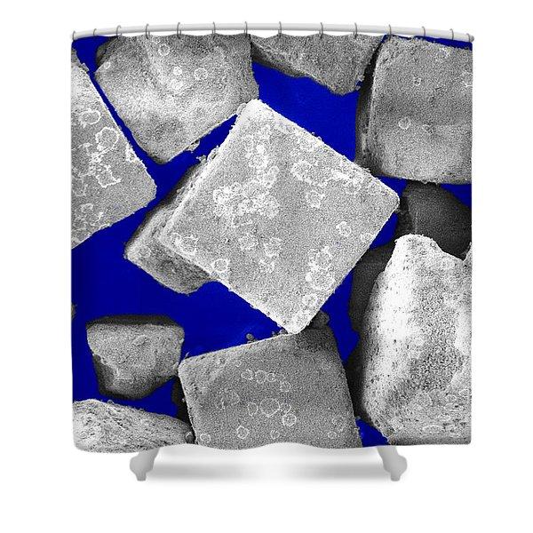 Kitchen Salt Crystals Shower Curtain