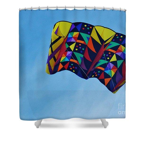 Kite A Flight Shower Curtain