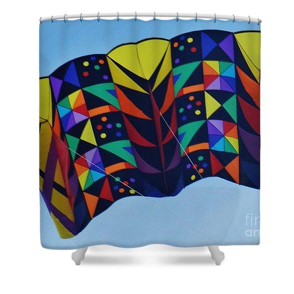 Kite Flite Shower Curtain