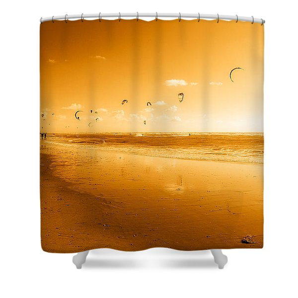 Kites Shower Curtain