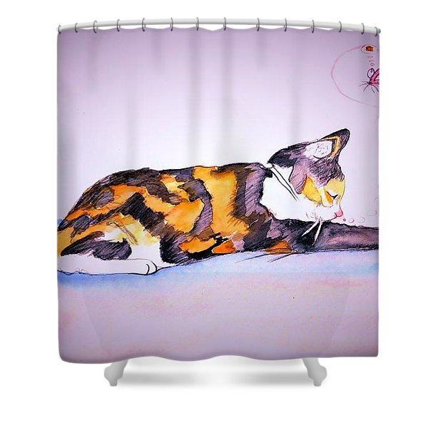 Kitty Cat Shower Curtain