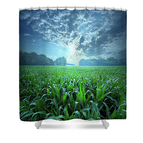 Knee High Shower Curtain