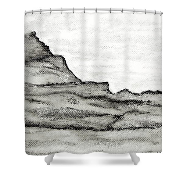 Knockmore In Mist Shower Curtain
