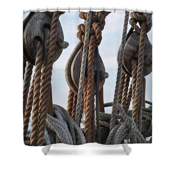 Knot Time Shower Curtain