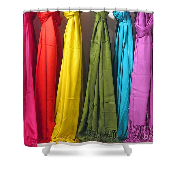 Knots And Fringe Shower Curtain