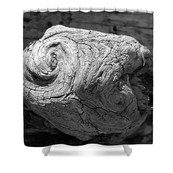 Knotty Shower Curtain