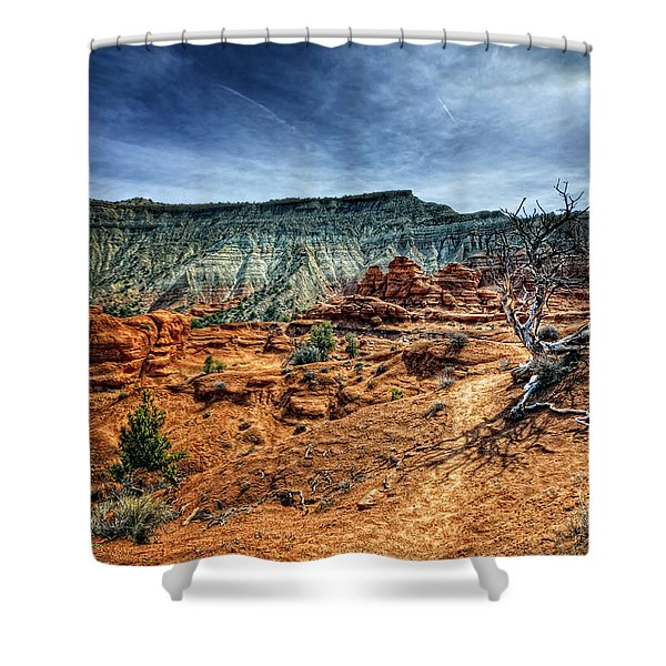 Kodachrome Basin Afternoon Shower Curtain