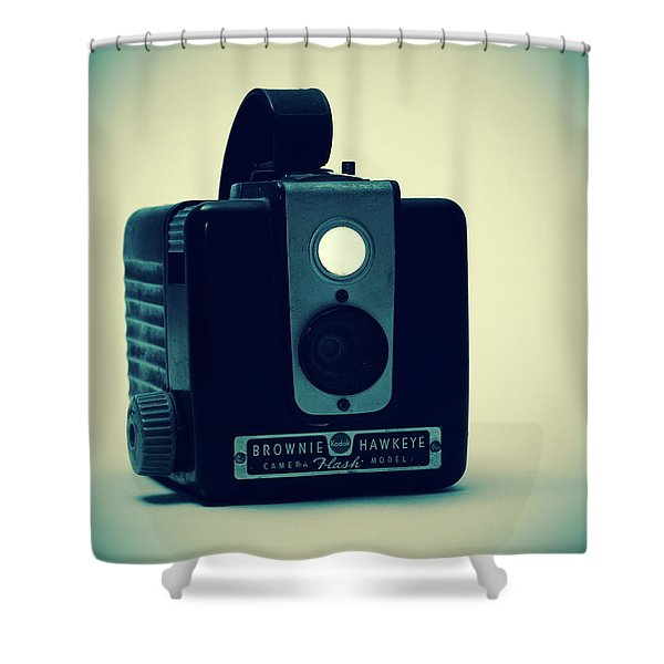 Kodak Brownie Shower Curtain