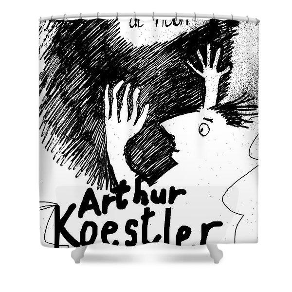 Koestler Darkness At Noon Poster  Shower Curtain