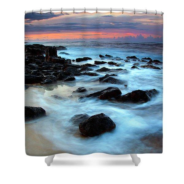 Koloa Dawn Shower Curtain