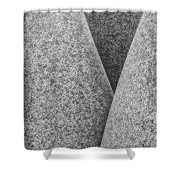 Kontinuitat By Max Bill. Shower Curtain