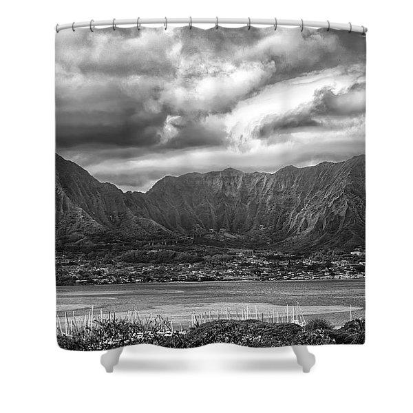 Ko'olau And H-3 Shower Curtain
