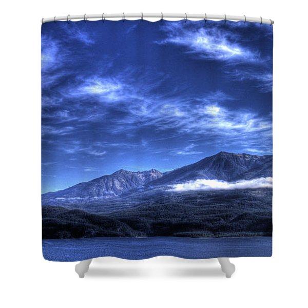 Kootenai Lake From Kaslo Shower Curtain