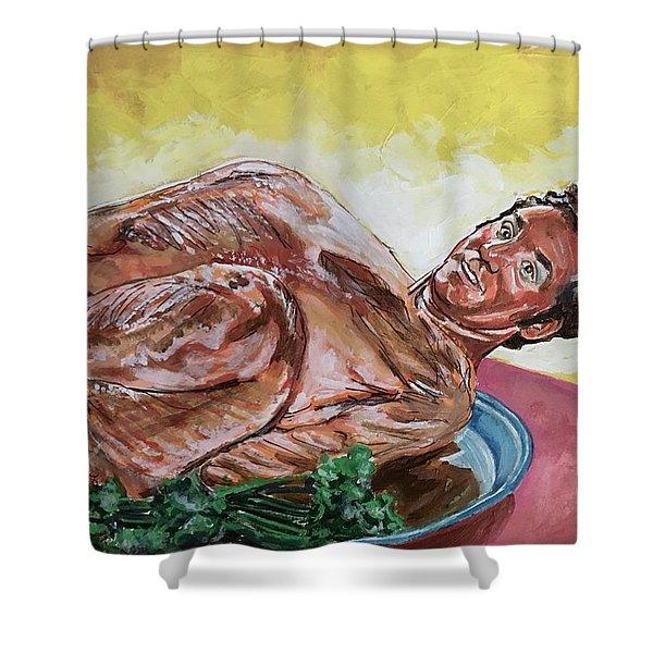 Kramer Turkey Shower Curtain