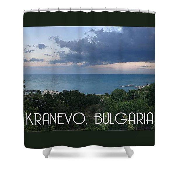 Kranevo Bulgaria Shower Curtain
