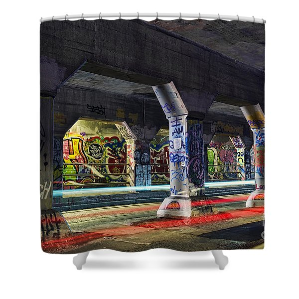 Krog Street Tunnel Shower Curtain