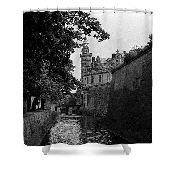 Kronborg Castle Is Hamlets Castle Shower Curtain